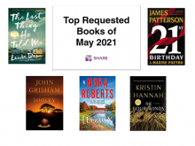 Top Requested Books May 2021